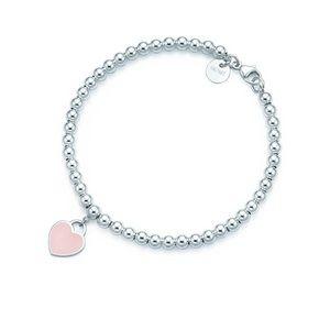 Return to Tiffany pink bracelet